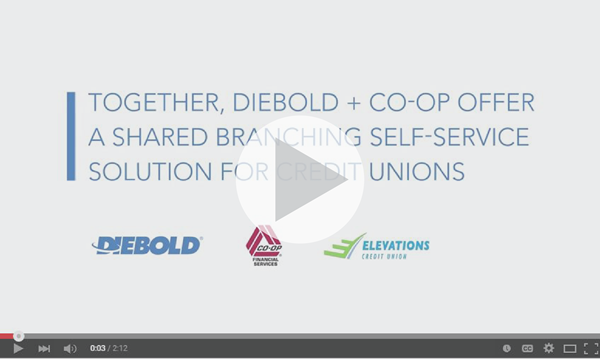 Diebold Co-Op Shared Branching Video