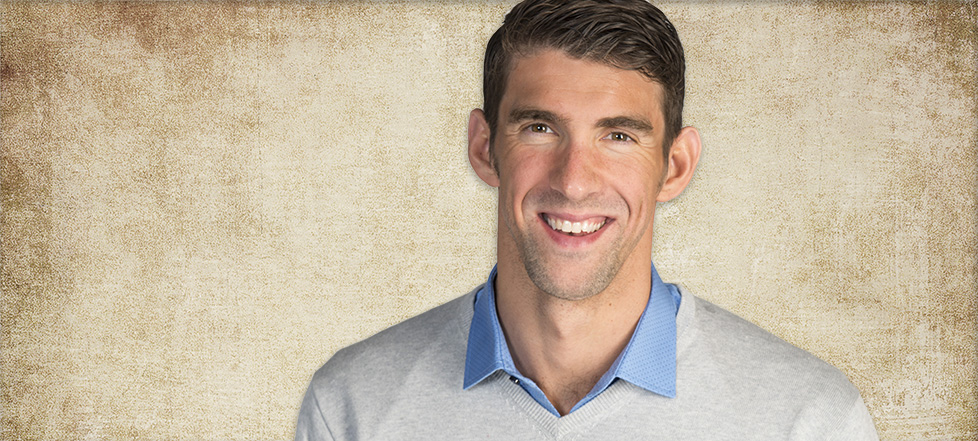 DIVE IN! MICHAEL PHELPS TALKS SPEED + EXCELLENCE AT THINK 18
